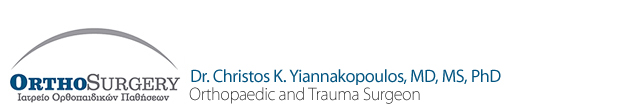 OrthoSurgery | Christos K. Yiannakopoulos, MD, MS, PhD | Orthopaedic and Trauma Surgeon